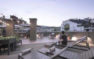 Zonneterras van Pol & Grace hotel Barcelona