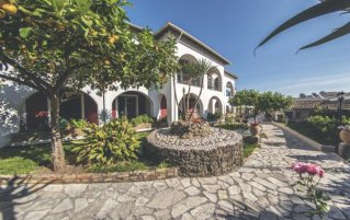 Tuin van Hotel Iliada Beach op Corfu