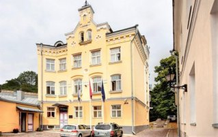 Exterieur van Hotel Rija Old Town in Tallinn