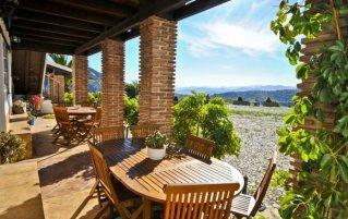 Terras van Appartementen Cortijo Las Monjas in Andalusie