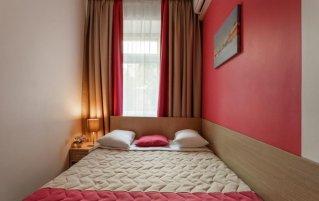 Tweepersoonskamer van Hotel Key Element in Moskou