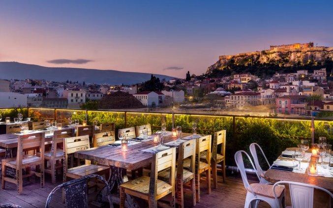 Korting Athene met een topuitzicht! Hotel
