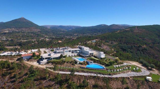 Hotel en omgeving van Água Hotels Mondim de Basto in Noord-Portugal