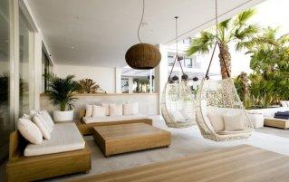 Lounge van Hotel Anfora op Ibiza