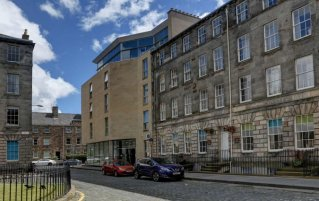 Gebouw van Hotel Ten Hill Place in Edinburgh
