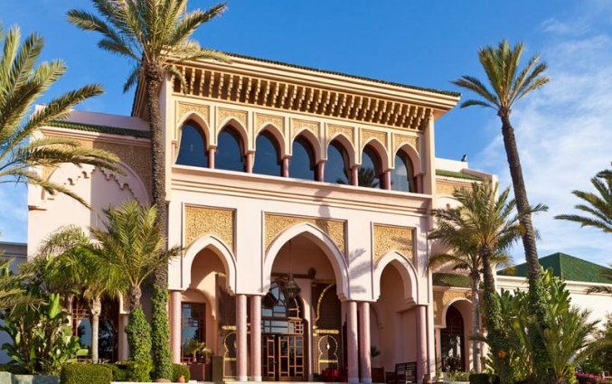 Gebouw van Hotel Resort Atlantic Palace in Agadir