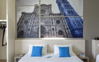 Tweepersoonskamer van Hotel B&B Firenze Nuovo Palazzo Di Giustizia in Florence