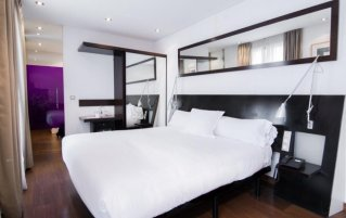 Tweepersoonskamer van Hotel Petit Palace Arana in Bilbao