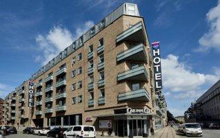Vooraanzicht van hotel Cabinn City Kopenhagen