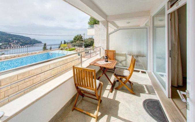 Balkon van Appartementen Villa Katarina Dubrovnik