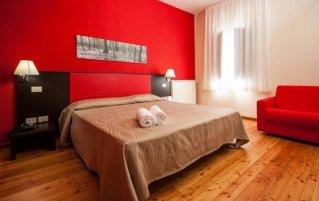 Tweepersoonskamer van Hotel Casale La Sterpaia