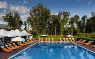 Zwembad van hotel Forte Dei Marmi