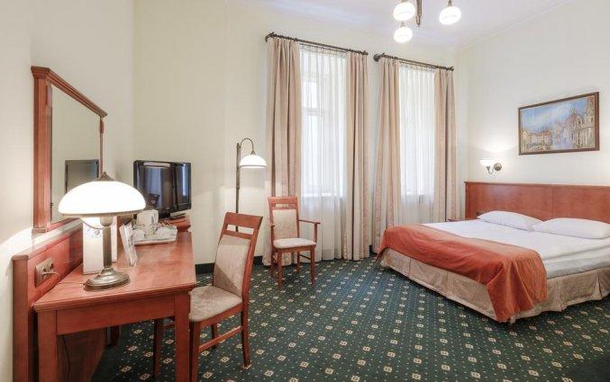 Tweepersoonskamer van Hotel Hetman in Warschau