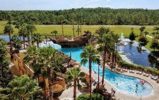 Zwembad van Resort Lake Buena Vista Village in Orlando