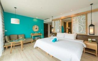 Tweepersoonskamer van Resort The Waters Khao Lak