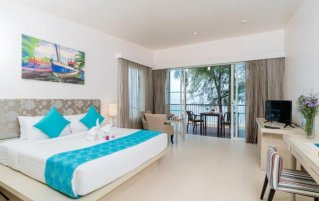 Tweepersoonskamer van Resort The Briza Beach Khao lak
