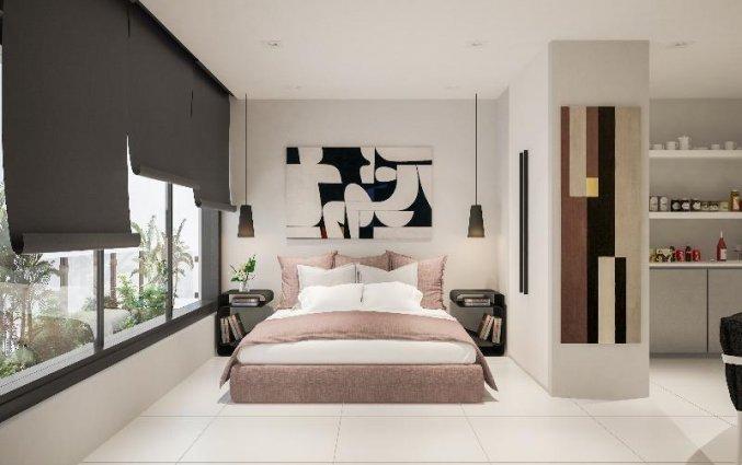 Tweepersoonskamer van Hotel Vitruvius Smart en Spa