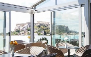 Eetruimte van hotel Athens Cypria