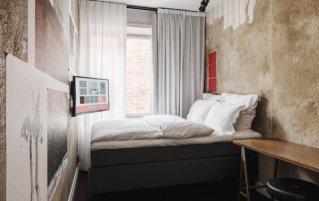 Tweepersoonskamer van Hotel Story Riddargatan in Stockholm
