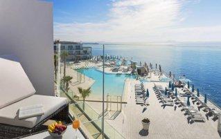 Uitzicht vanuit Hotel Elba Sunset Thalasso Spa op Mallorca