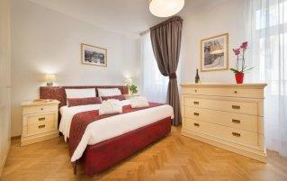 Tweepersoonskamer van hotel Suite Home Prague