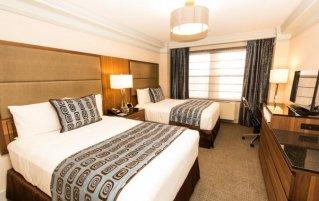 Tweepersoonskamer van The Belvedere hotel New York