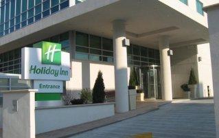 Ingang van hotel Holiday Inn Long Island City New York