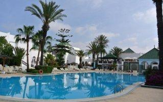 Zwembad van Les Jardins d'Agadir in Agadir